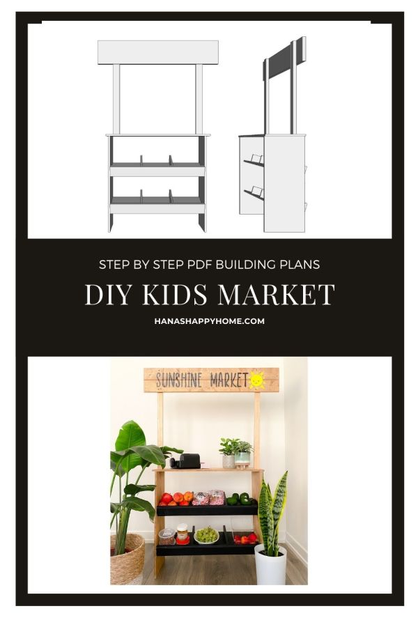 Kid's Market Stand – Printable Building Plans